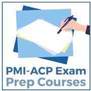 PMI-એસીપી પરીક્ષા પ્રેપ અભ્યાસક્રમો