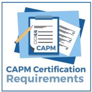 CAPM certifikacijske zahteve