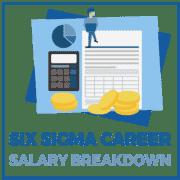 Six Sigma Career Salary Breakdown